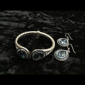 Brighton bracelet and earring set